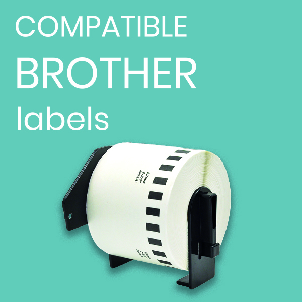 compatible brother labels