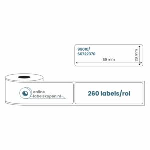 Dymo 99010 labels